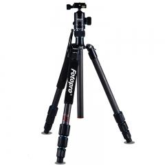富图宝(Fotopro) MGC-584N++FPH-52Q 专业碳纤维单反相机脚架