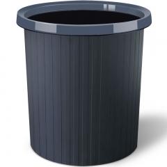 五月花 11L压圈垃圾桶环保分类塑料垃圾篓 办公耐用大容量纸篓WYH-GB101