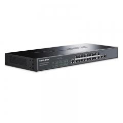 TP-LINK TL-SL3218-Combo 16口百兆二层网管核心交换机 2千兆口+2复用千兆光纤口