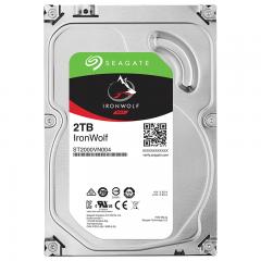 希捷(Seagate) NAS硬盘 2TB 64MB 5900转 PMR CMR垂直磁记录 网络存储 SATA 希捷酷狼IronWolf ST2000VN004