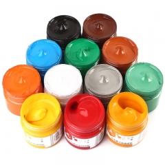 博格利诺(BOGELINUO)水粉颜料 100ml学生儿童初学者适用 水粉画颜料美术用品 148-G100-07柠檬黄