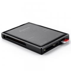 绿巨能(llano)读卡器多合一 USB3.0高速读卡器 相机读卡器适用SD/TF/Micro SD/CF存储卡等 LJN-CB1002