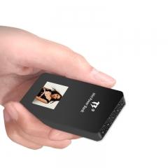 解密者(DECRYPTERS)B21 高清微型摄像机便携式手持执法记录仪微型摄像头 充电式迷你DV  内置64G