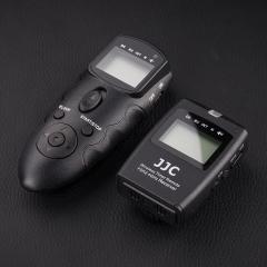 JJC 尼康D750 D610 D7500快门线 无线定时遥控器Z6 D7200 D7100 D7000 D5300 D90单反相机延时摄影配件MC-DC2