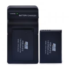 雷摄LEISE LP-E12数码相机电池+充电器(两电一充)套装适用:佳能 EOS M2 M10 M 100D (新老包装随机发货)