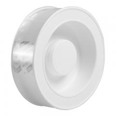 得力(deli)30mm*3m纳米强力魔力胶带 双面固定爬墙贴随手贴 透明家用车用无痕双面胶 加厚款33603 可重复使用