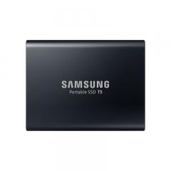 三星(SAMSUNG) 2TB Type-c USB3.1 移动硬盘 固态(PSSD)T5 玄英黑 最大传输速度540MB/s 安全便携