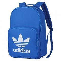 阿迪达斯adidas 双肩包 BP CLAS TREFOIL 轻便书包双肩背包 BK6722 蓝色