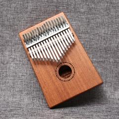 美德威 拇指琴卡林巴琴 桃花芯木单板17键非洲手指琴Kalimba 17音相手拨琴