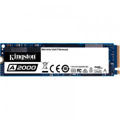 金士顿(Kingston) 1TB SSD固态硬盘 M.2接口(NVMe协议) A2000系列