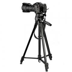 缔杰(DIGIPOD)TR472 便携三脚架云台套装 微单数码单反相机摄像机旅行三角架 展开高度170CM