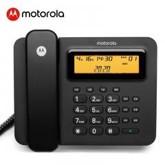 摩托罗拉连接电脑智能录音电话机 固定座机办公家用话务客服商务会议 海量存储 批量拨打 名片弹屏CT800RC