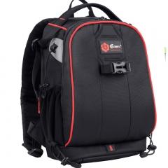 锐玛(EIRMAI)开拓者系列小号 单反相机摄影包双肩包 佳能尼康数码相机包 防盗摄影背包 红边