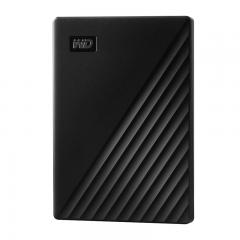 西部数据(WD)2TB USB3.0移动硬盘My Passport随行版 2.5英寸 黑色(密码保护 自动备份)WDBYVG0020BBK