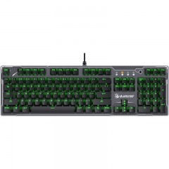 双飞燕(A4TECH)B770 血手幽灵机械键盘 有线键盘 游戏键盘  全尺寸 单色背光 背光键盘 黑色 光轴