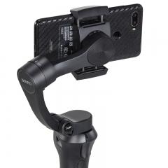 百诺(Benro)P1S折叠手机稳定器vlog视频直播外接麦克自拍摄像三轴云台手持稳定器带三脚架