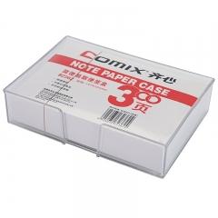 齐心(COMIX) 易取便签纸/便条纸(带盒)147*101mm 办公文具B2362