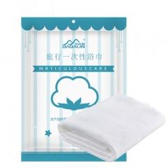 加加林 JAJALIN 一次性浴巾纯棉大毛巾 户外旅行便携 快干浴巾无纺布加厚 3个装