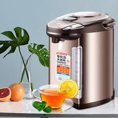 美的(Midea)电热水瓶热水壶电水壶304不锈钢水壶热水瓶5L多段温控电水壶双层防烫烧水壶PF704C-50G