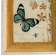 花间集 相框 6寸PS树脂相框 北欧风相框 浅胡桃色 植绒背板 横竖摆挂四用