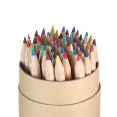 晨光(M&G)文具48色牛皮筒装彩铅 儿童绘画彩色铅笔 学生画笔填色笔套装 48支/筒AWP36813