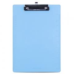 广博(GuangBo)A4优质PS书写板夹带刻度/办公用品 平夹随机颜色 单个装WJ6105