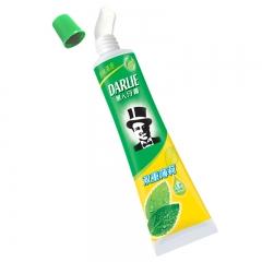 黑人(DARLIE)双重薄荷牙膏120g 清新口气 防蛀固齿