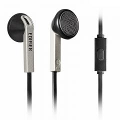 漫步者(EDIFIER) H190P 手机耳机 手机耳塞 可通话 酷雅黑