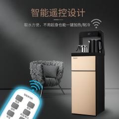 贝尔斯盾(BRSDDQ)茶吧机多功能智能遥控冷热型立式饮水机BRSD-59【金色】