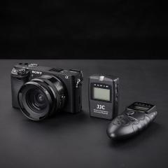 JJC 索尼A7M3 A7R3快门线 sony微单无线定时遥控器A7S2 A6300 RX10M4相机延时摄影配件A6500 RX100M3 黑卡6
