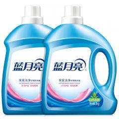 蓝月亮 深层洁净护理洗衣液(自然清香)3kg*2瓶