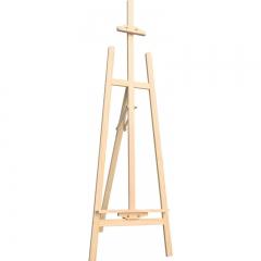 中盛画材(transon)素描画架子黄松木架子170CM 成人实木画板架广告展示 美术用品画具画材