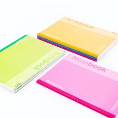 广博(GuangBo)6本装80张B5笔记本子记事本日记本 颜色混装GBR0726