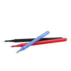 日本百乐(PILOT)可擦中性笔替芯热可擦针管水笔芯 蓝色 0.5mm 12支装 BLS-FRP5-L原装进口
