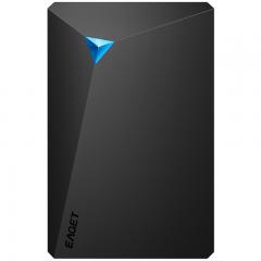忆捷(EAGET)250G USB3.0移动硬盘G20 2.5英寸文件数据备份存储安全高速防震黑色