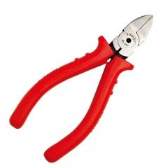 史丹利STANLEY 红柄精密水口钳5英寸 剪钳剪线钳斜嘴钳电工工具钳子模型剪 84-037-23