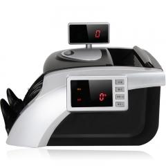 得力(deli)92606升级版新版人民币验钞机 银行专用点钞机 双屏语音 USB升级