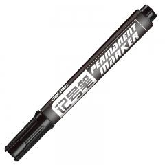 得力(deli)黑色粗头物流油性记号笔大头笔 10支/盒6881
