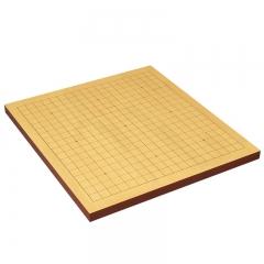 御圣象棋围棋棋盘两用黄鸡翅象棋子B型单面新云子配布袋木盒