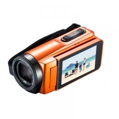 杰伟世(JVC)GZ-R465DAC 四防高清数码家用摄像机/高清运动DV/防水/内置4G内存 橙色