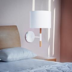 松下(panasonic)台灯LED床头灯书房卧室床头灯简约美式床头台灯线控开关HHLW0303