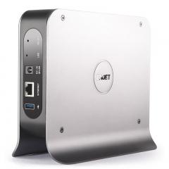 忆捷(EAGET)以太网 USB3.0网络云存储Y300 3.5英寸NAS 支持远程访问云盘服务器
