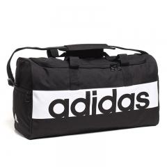 阿迪达斯(Adidas)包 旅行便携单肩包 休闲斜挎包 运动训练手提包 S99954 LIN PER TB S 黑白