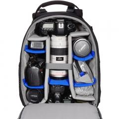 百诺(Benro)酷行者 Cool Walker LN 专业双肩摄影包 单反微单相机包 大容量全装载安全防护电脑 防雨罩