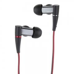 索尼(SONY)XBA-A1AP 圈铁结合通话耳机 黑色