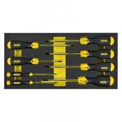 史丹利(STANLEY)EVA工具托组套-8件花形螺丝刀 90-039-23