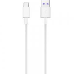 华为(HUAWEI) 原装 Type C数据线  5A充电线 白色 AP71 适用于华为Mate20/P20/P10/Mate10系列等