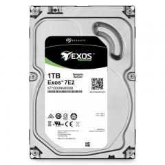 希捷(Seagate)1TB 128MB 7200RPM 企业级硬盘 SATA接口 希捷银河Exos 7E2系列(ST1000NM0008)