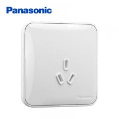 松下( Panasonic)开关插座面板 三孔16A插座面板 16A3孔大功率空调墙壁插座 格彩系列 WPC106 白色