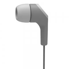 高斯(KOSS) KEB15iG 时尚彩色入耳式耳机 带麦语音通话通用耳塞  灰色